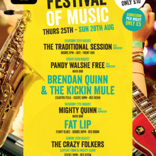 Bryson's Festival of Music – Thursday 25th – Sunday 28th July
