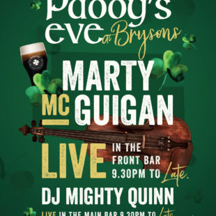 Paddy's Eve at Bryson's