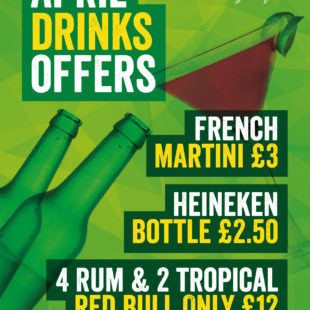 April drinks offers
