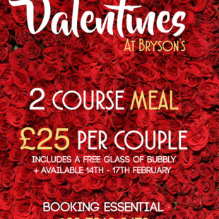 Valentines at Bryson's