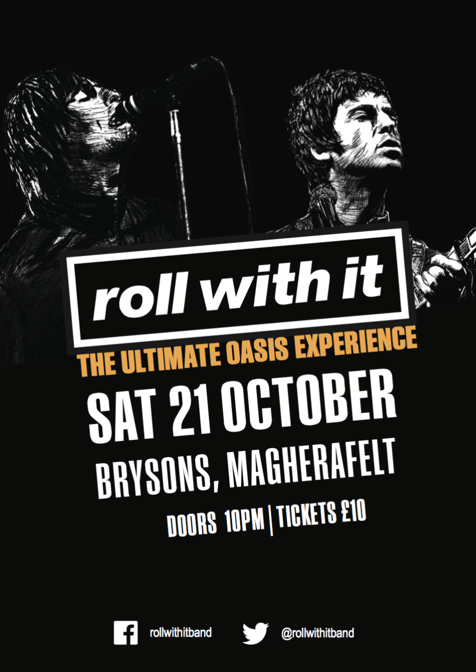 Roll with it – Oasis tribute show