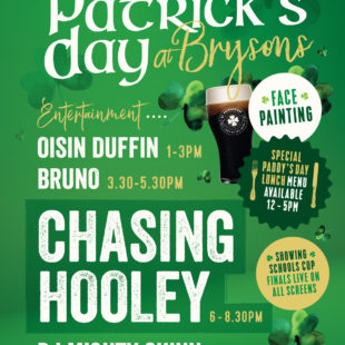 Paddy's day at Bryson's