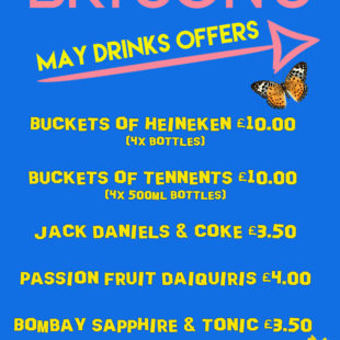 May drinks offers