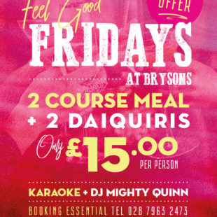 Fell good Fridays offer