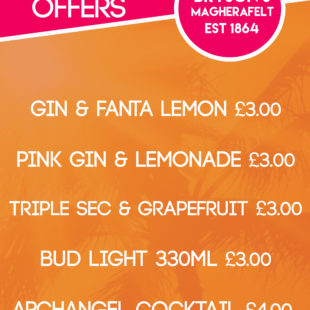 August drinks offers