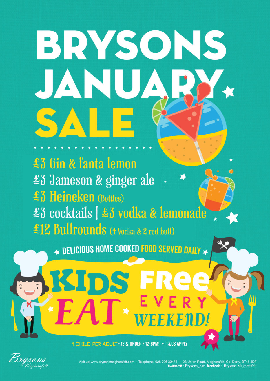 January sales offers