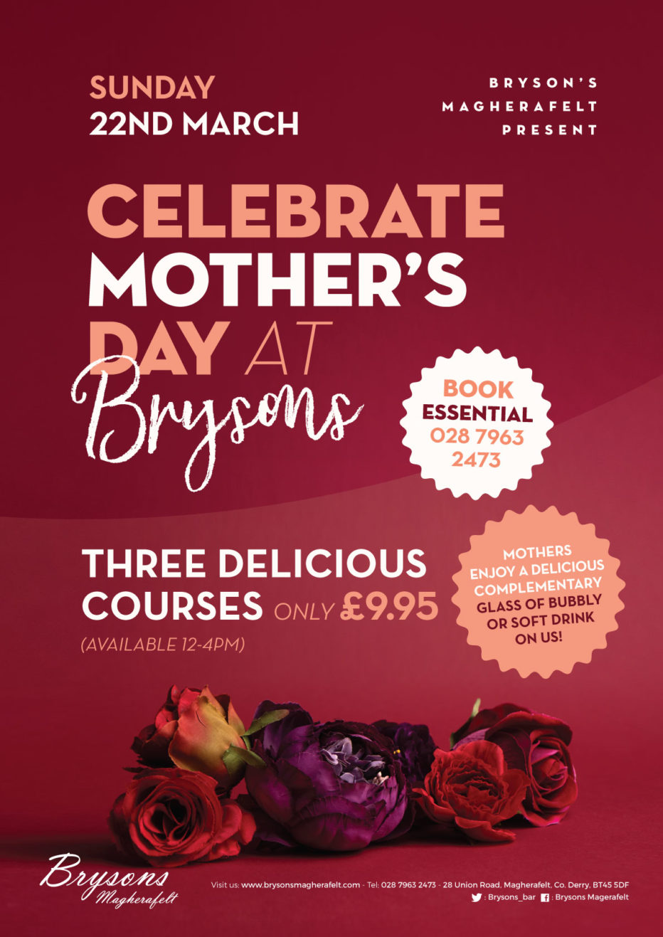 Mothers day at Bryson's