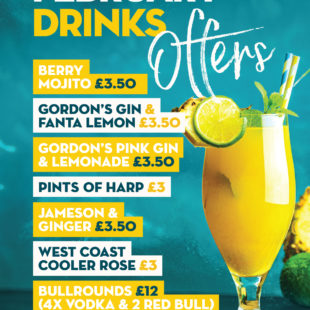 February drinks offers